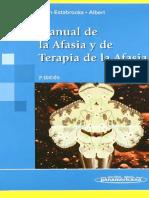 Manual de La Afasia y La Terapia de La Afasia