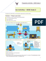 SELT GESE Grade 2 - Preparation Activities