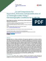 Deteccion y Cuantificacion de Gentamicina y Neomicinas