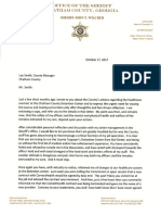 Sheriff Letters