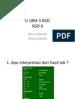 FAILA LI LBM 3 KGD
