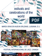 Festivals and Celebrations of the World