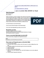 Crear y Usar Un Servicio Web ASP.net en Visual Web Developer