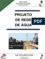 Projeto de Rede de Água
