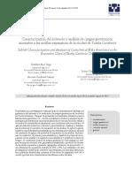 Caracterizacion de Suelo y Analisis de Resgos Geotecnicos