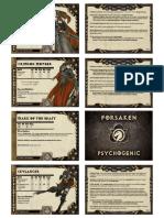 Holy Prevailer Council Cards