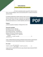 Avance de Clase - Acidificación - III Parte Práctica