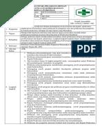 1.2.5.8 Sop Konsultasi Antara Pelaksana Dengan Penanggung Jawab Program Dan Kepala Puskesmas