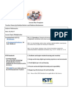 te 206 - final lesson plan template