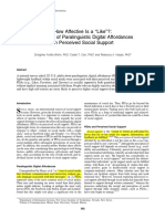 How Affective is a -Like- The Effect of Paralinguistic Digital Affordances on Perceived Social Support