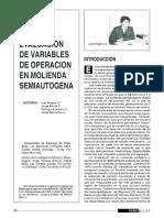 6 - Evaluacion de Variables de Operacion en Molienda Semiautogena - Luis Magne o Jorge Barria c Rodrigo Amestica v Jorge Menacho Li