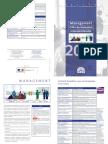 Depliant Formations Management 2017