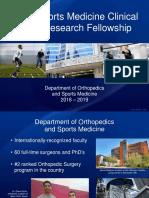 Fellowship Brochure
