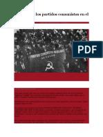 La Crisis de Los Partidos Comunistas en El Perú