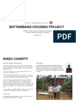 KNGO Low Cost Housing Sponsorship October 2018