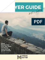 Prayer Guide 2017