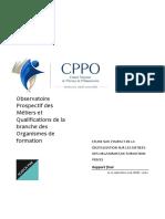 Etude Digitalisation Metiers Branche of Rapport Integral