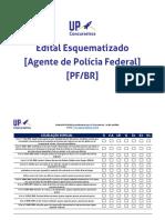 Edital Esquematizado Para Agente Polícia Federal
