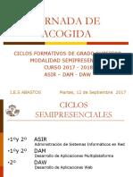 Jornada de Acogida