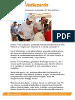 """Se suman familias navojoenses a la comunidad de """"Energía Sonora"""""""