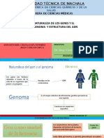 Naturaleza de Los Genes y El Genoma