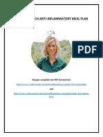 Anti Inflammatory Meal Plan