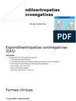 Espondiloartropatias  soronegativas
