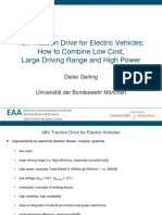 Traction Drives for Evs
