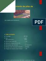 Dimensionamiento de Pilas de Lixiviación-practico