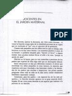 El Jardin Maternal Los Docentes en El Jardin Maternal Moreau de Linares