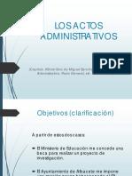 2.Tema Actos Administrativos