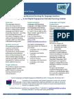 languages and digital engagement flyer