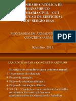 Montagem de Armaduras Para Concreto Armado