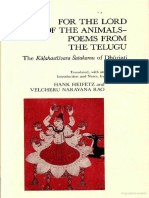 Dhurjati - For the Lord of the Animals, Trans Narayana Rao and Heifetz