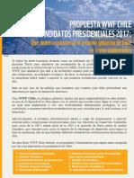 Propuesta WWF Chile a Candidatos Presidenciales