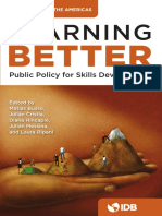 BID - Learning Better. Public Policy for Skills Development, 2017