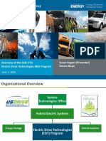 Overview of the DOE VTO Electric Drive Technologies R&D Program