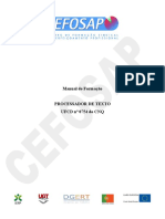 Processador de Texto - 0754