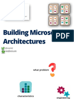 Building Microservice Architectures Neal Ford