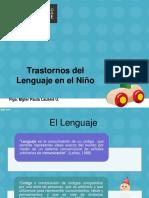 Clase 5. Trastornos del Lenguaje en el Niño.pdf