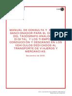 Manual Tacografo Limitador Velocidad