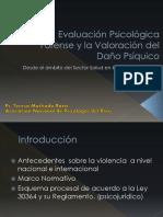 Evaluacion Psicologica Forense y Valoracion Del Daño Psiquico