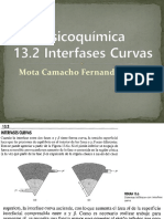 13.2 Interfases Curvas
