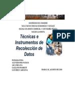 GUÍA 2.5.3. Instrumentos de Recolección de Datos