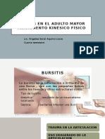 bursitis en el adulto mayor