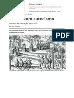 Ensino Com Catecismo