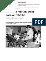 Ditadura Militar Aulas Para o Trabalho