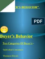 Buyers-Behavior Models & Influencing Factors