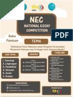 Panduan National Esai Competition 2017 Bsc Unnes (1)
