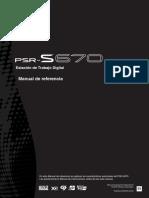 Manual PSR S670